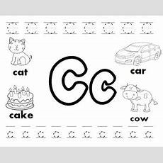 Letter C Worksheets! By Kindergarten Swag  Teachers Pay Teachers
