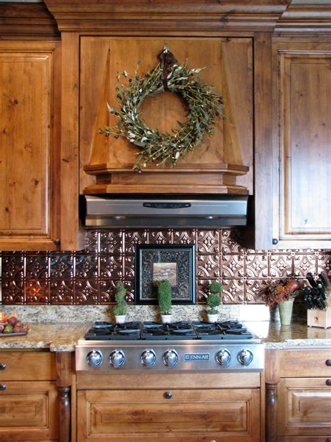 tin tile backsplash the gathering place design kitchen backsplash makeover