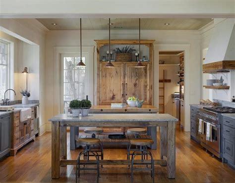cuisine blanc laqué plan travail bois cuisine gris et bois en 50 modèles variés pour tous les goûts