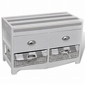 Banc De Rangement Pas Cher : la boutique en ligne banc de rangement avec 2 tiroirs et 2 ~ Dailycaller-alerts.com Idées de Décoration
