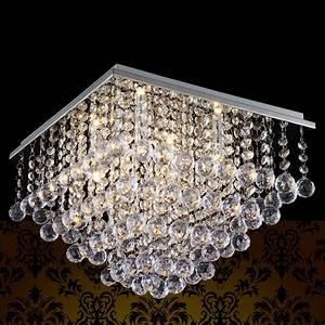 Led Kristall Leuchte : deckenleuchte deckenlampe lampe leuchte mesh kristall chrom wohnzimmer ebay ~ Markanthonyermac.com Haus und Dekorationen