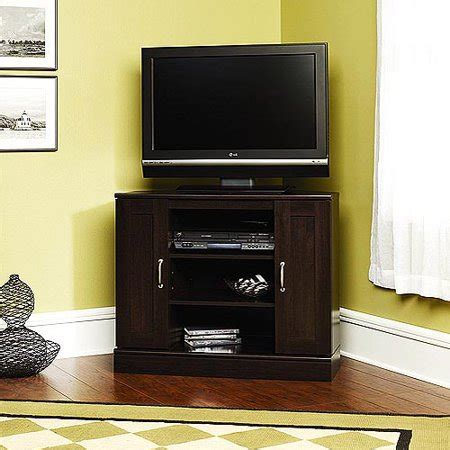 tv cabinets walmart cherry corner tv stand with storage for tvs up to 37
