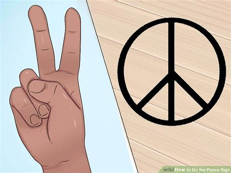 3 Ways To Do The Peace Sign