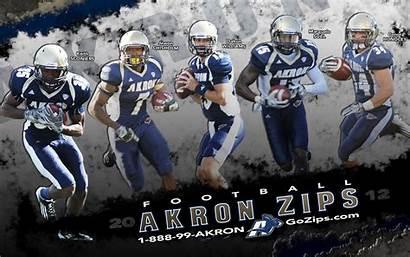 Akron University Zips Background Football Gozips Hundley