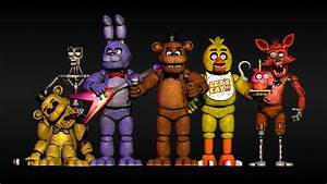 Fnaf Characters | www.imgkid.com - The Image Kid Has It!