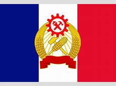 Flag of the commune of France From Kaiserreich vexillology