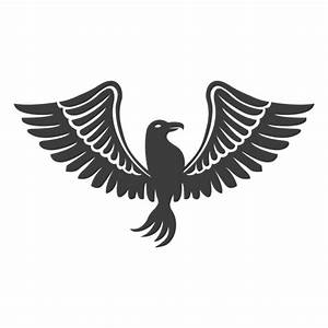 Wide winged phoenix bird - Transparent PNG & SVG vector