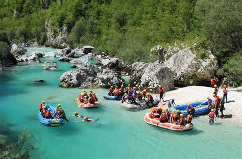 White Water Rafting On Soca River Slovenia Life Advenutres