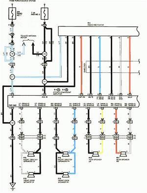 1994 Toyota Camry Radio Wiring Diagram 41209 Verdetellus It