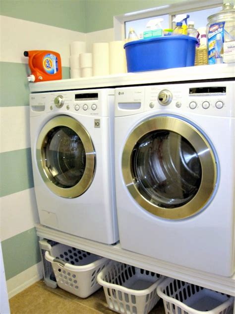 Diy Laundry Room Makeover  Classy Clutter