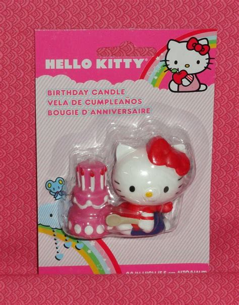 kitty birthday candlewiltonmulit colorcake party