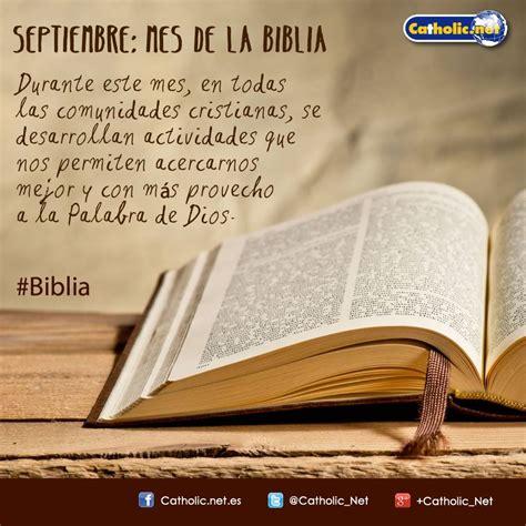 catholic net septiembre mes de la biblia facebook