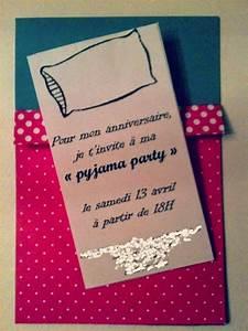 Pour Cette Semaine Spciale Invitations Pyjama Party J