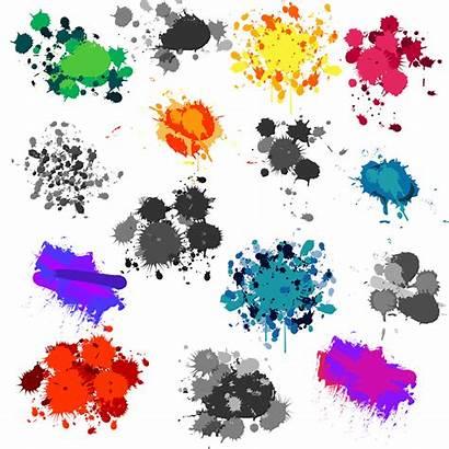 Paint Clipart Splatters Splatter Clip Splat Splash
