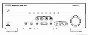 Yamaha Rx-v371 - Manual - Audio Video Receiver