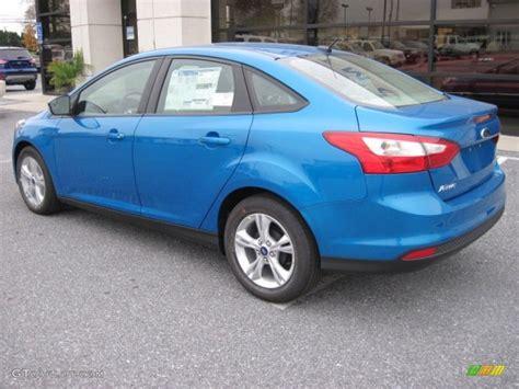 2013 Ford Focus Se Sedan by Blue 2013 Ford Focus Se Sedan Exterior Photo