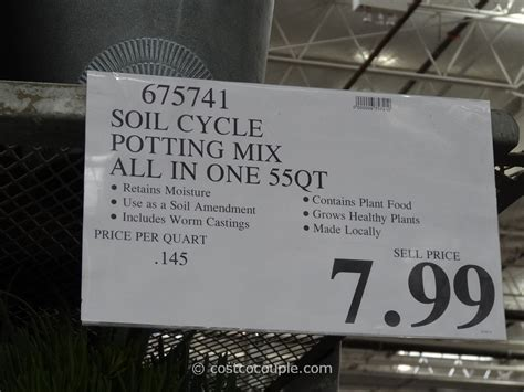 soil cycle  qt potting mix