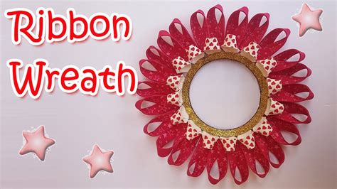 How To Make Christmas Ribbon Decorations