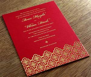 Indian letterpress wedding invitation gallery avani for Images of hindu wedding invitations