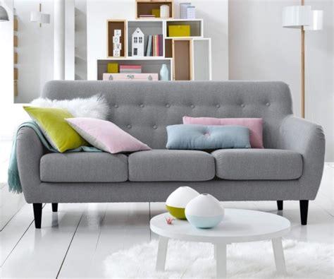 coussin canapé pas cher créer un salon style scandinave à prix doux joli place