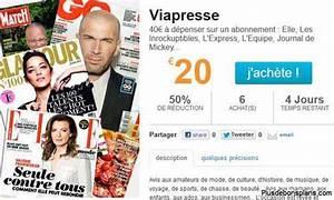 Abonnement Presse Pas Cher : abonnement magazine pas cher viapresse 20 euros au lieu ~ Premium-room.com Idées de Décoration