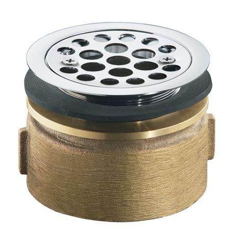 kohler sink strainer home depot kohler brass service sink strainer in polished chrome k