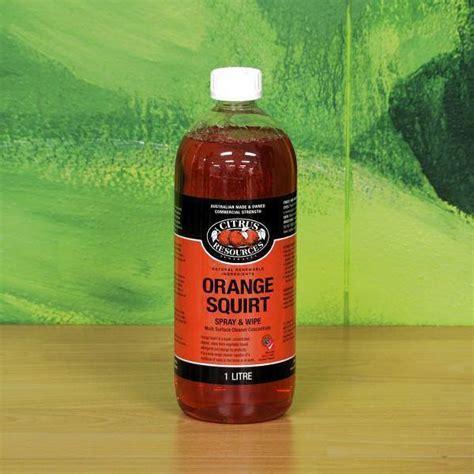 Orange Squirt Cleaner Degreaser   Brisbane Wholesale