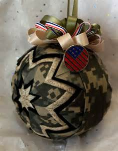 prairie creations ornaments military style army ornaments