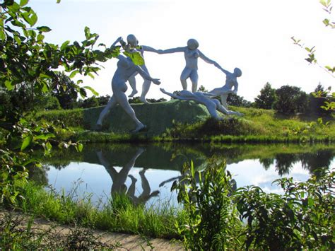 our visit to grounds for sculpture
