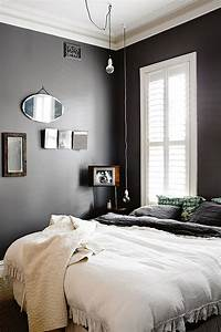 Rural-home-with-black-and-white-bedroom, -, Home, Decorating, Trends