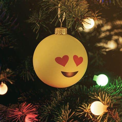 christmas emoji baubles bauble