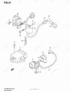 Suzuki Atv 2004 Oem Parts Diagram For Electrical
