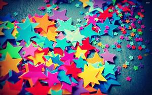 Colorful Stars Wallpapers - Wallpaper Cave