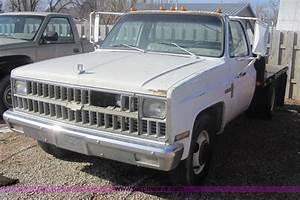 1982 Chevrolet C30 Custom Deluxe Flatbed Pickup Truck