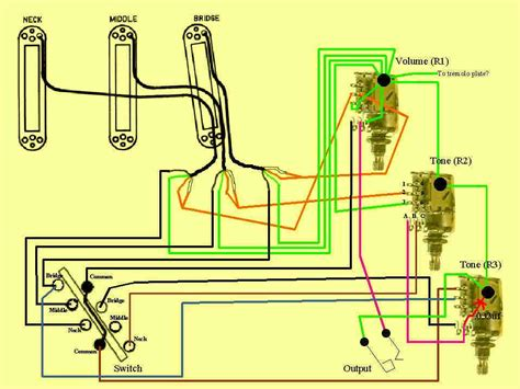 Capacitor Wiring Diagram For Guitar by Guitar Wiring Humbucking Modifications Guitar