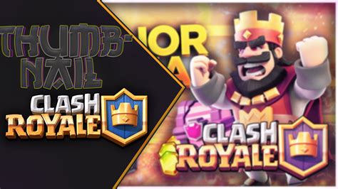 Clash Royale Thumnail Template by Clash Royale Thumbnail Psd Ivixon Youtube