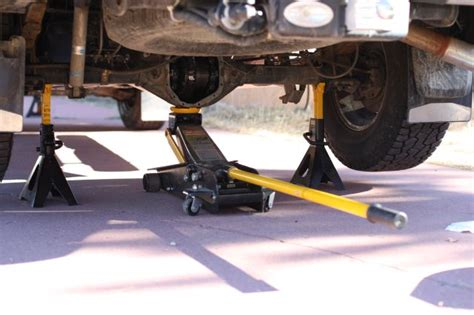 How Do You Jack Up The Rear Of Your Truck?