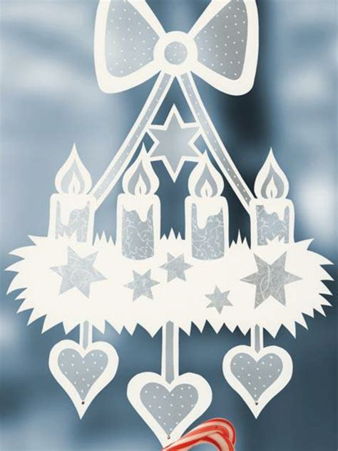 Fensterdeko Weihnachten Zum Basteln by Fensterbilder Zu Weihnachten Originelle Bastelideen Zum
