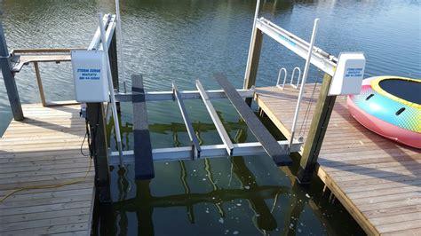World Cat Boat Lift by Building Catamaran Lift Bunks The Hull Boating