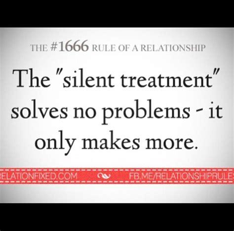 Silent Treatment Meme - quotes about silent treatment 52 quotes