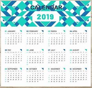 Printable Week Calender 2019 Calendar With Week Numbers Printable Free Printable