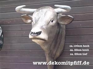 Deko Für Hauswand : deko bullen kopf f r ihre hauswand 862494 ~ Markanthonyermac.com Haus und Dekorationen