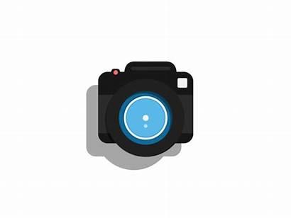 Camera Digital Animated Gifs Icon Icons Animation
