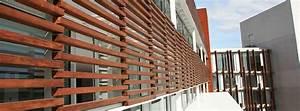 Brise Soleil Horizontal : girasol brise soleil et brise vues de lames en bois ~ Melissatoandfro.com Idées de Décoration