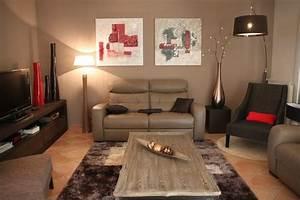 ameublement et decoration rdc maison moderne salle de With decoration de salle de sejour