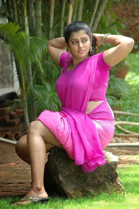 Tamil Mallu Aunty Varsha Hot And Spicy Photo Album Mallu