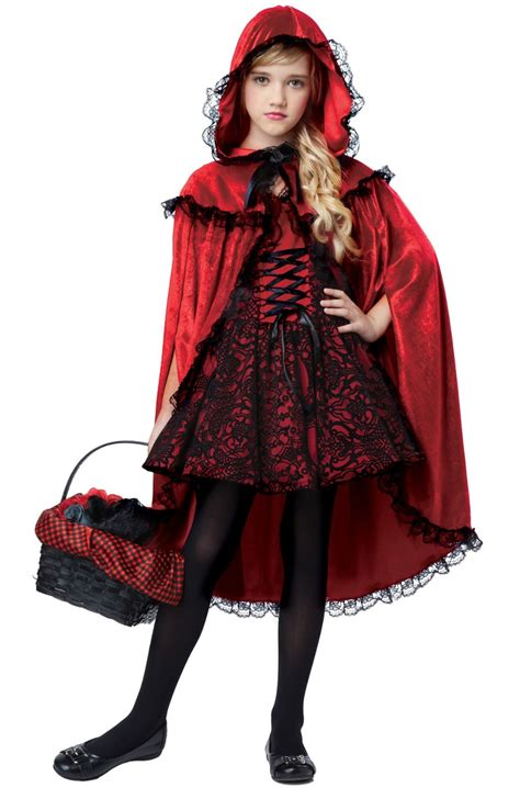 Disfraz De Caperucita Roja California Costumes Para Niña
