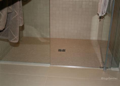 Bathroom Tile Transition