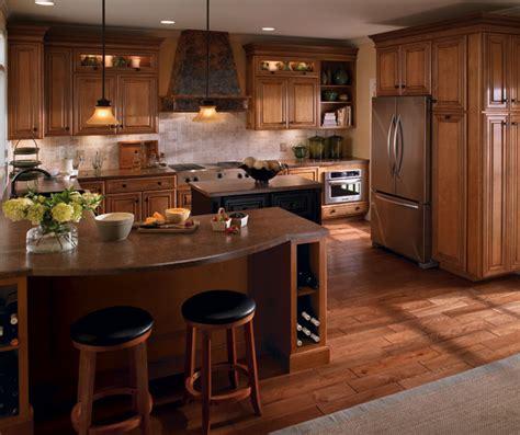 schrock kitchen cabinets menards ainsley maple palomino with tidal mist kitchen island