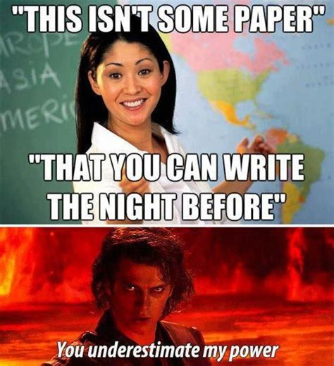 Memes About Writing Papers - meme all the things center for writing excellence